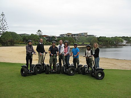 Recent Getway Crew enjoying a Segway xperience